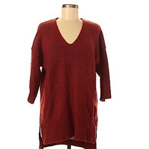 Magaschoni Rust Sweater Size Small